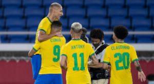 คลิปไฮไลท์ฟุตบอลโอลิมปิก 2021 บราซิล 4-2 เยอรมนี Brazil 4-2 Germany